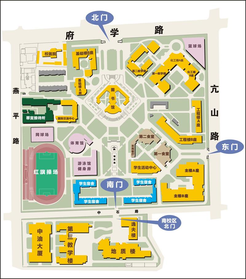 校区平面图