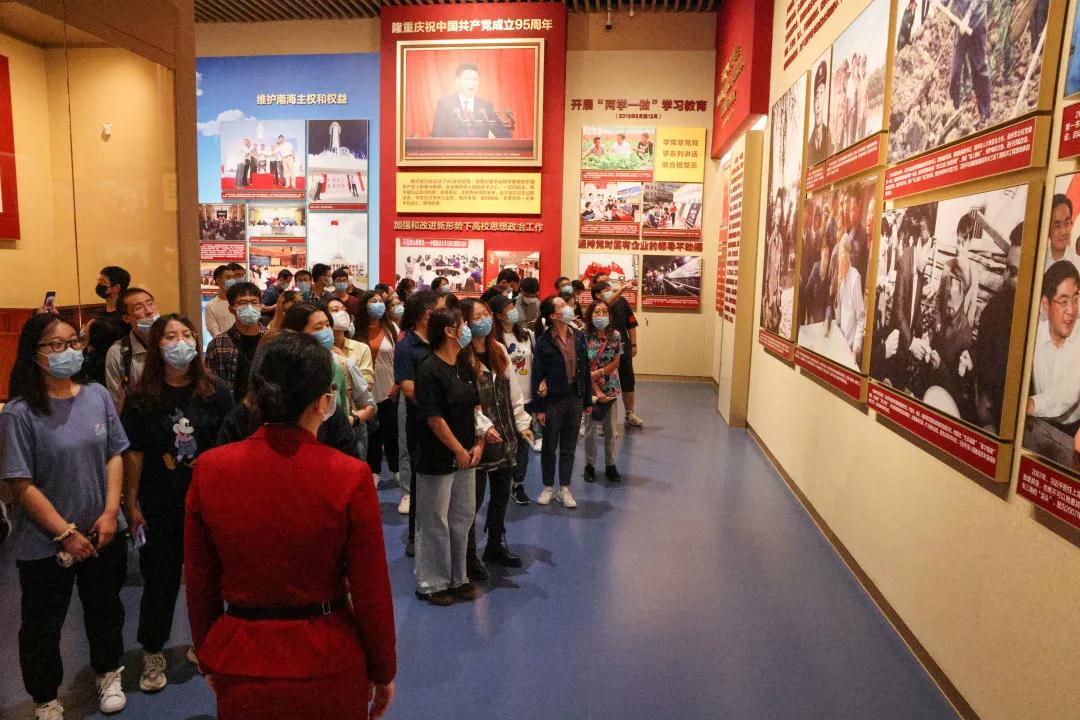 中石大组织师生赴中国共产党历史展览馆参观学习