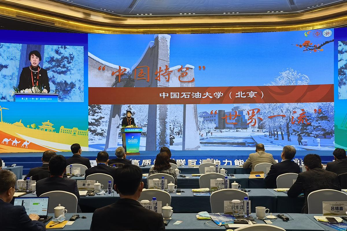 """聚焦能源未来!校长吴小林参加 """"一带一路""""能源部长会议并作专项论坛主旨演讲"""