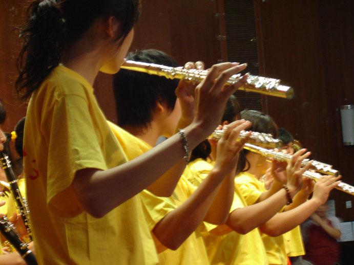 打击乐合奏及队列表演《拉德斯基进行曲》等十六个小节目.他们的出